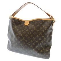 LOUIS VUITTON Delightful MM Monogram Canvas M40353 Shoulder Bag France A... - $1,043.95