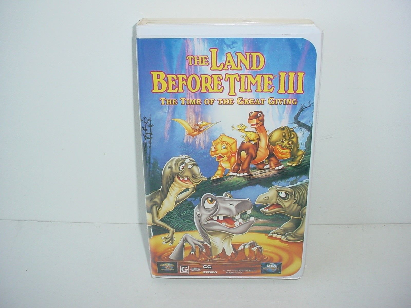 Primary image for The Land Before Time III: The Time of Great Giving VHS Video Tape Movie