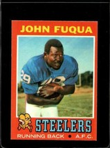 1971 TOPPS #76 JOHN FUQUA EXMT+ RC ROOKIE STEELERS  *X2793 - $4.95