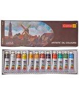 Camel Artist's Oil Color Box - 9Ml Tubes, 12 Shades - $14.95