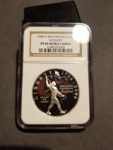 2006-P Ben Franklin Scientist  Commemorative Silver Dollar NGC PF 69 ULT... - $34.55