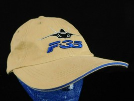 Joint Strike Fighter F-35 Baseball Cap Hat Air Force Lockheed Martin Beige - $19.99