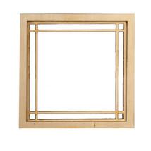 DOLLHOUSE MINIATURE 1:12 SCALE DOUBLE PRAIRIE PLAIN WINDOW #AM2190 - $13.99