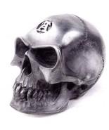 Car Manual Gear Shift Knob Alchemist Badass Skull Silver Resin V3 Alchem... - $19.95