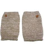 Ginga's Galleria Rose Pink Mix Crochet Knit Popcorn Pattern Button Boot ... - $6.50