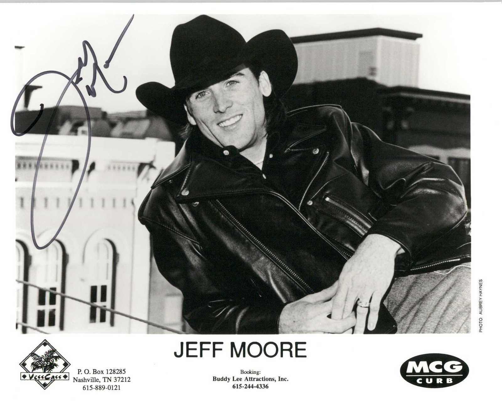 Primary image for Jeff Moore Signed Autographed Glossy 8x10 Photo