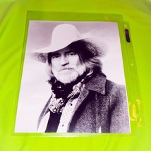 RARE WILLIE NELSON COUNTRY MUSIC SUPERSTAR 8 X 10 PROMO PHOTO PRINT - $4.95
