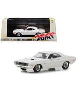 1970 Dodge Challenger R/T White Vanishing Point (1971) Movie 1/43 Diecas... - $27.59
