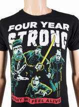 FOUR YEAR STRONG Fall 2010 TOUR T-SHIRT Small S Melodic Hardcore Concert... - $18.69