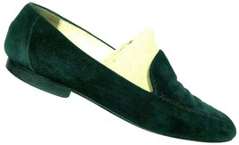 Paloma Women's Black Suede Leather Slip On Bicycle Toe Loafers Size 10 B - $66.02