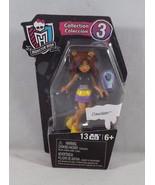 Mega Bloks Mattel Monster High Collection 3 Figure - New - Clawdeen - $4.74