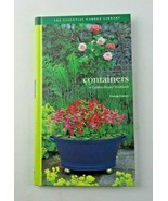 Containers : A Garden Project Workbook by George Carter 1997 HC book - $6.00