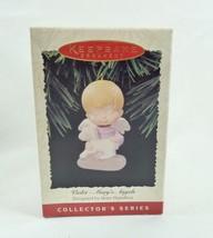 Hallmark 1996 NIB-DB Marys Angels Series #9 Violet Lamb Ornament - $17.95