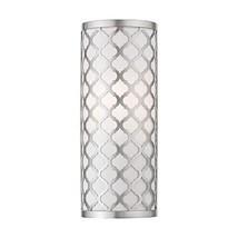 Livex Lighting 41100-91 Ada Wall Sconce, Medium, Brushed Nickel - $102.49