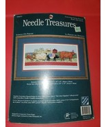 """Needle Treasures Counted Cross Stitch """"Animals On Parade"""" #04693 [New in Package - $24.70"""