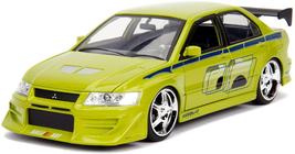 Jada Toys Fast  Furious 1:24 Brian'S Mitsubishi Lancer Evolution Vii Die... - $36.27