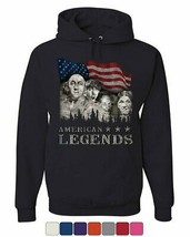 Rushmorons The Three Stooges Hoodie Mount Rushmore Funny Parody Sweatshirt - $22.94+