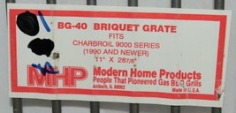 Modern Home Products BG40 Replacement Briquette Grate Charbroil 9000 Series image 2