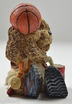 "James Alex Basketball Bear Figurine 4"" Tall Decorative Collectible Resin... - $9.99"