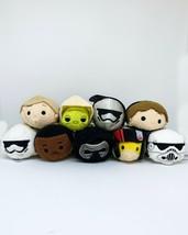 Disney Mini Tsum Tsum Star Wars Plush Toys - Yoda Luke Han Solo Fin Poe ... - $8.99