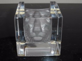 KOSTA BODA BERTIL VALLIEN #68527 CAT VIEWPOINTS PAPERWEIGHT - $120.00