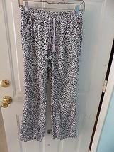 Victoria's Secret Pink/Black Leopard Print Pajama Pants Size XS Women's EUC - $18.69