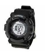 Men's sport Digital-watch SUNROAD Sports Watch FR820A Altimeter Baromete... - $44.29
