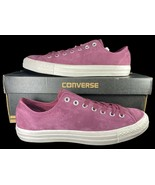 Converse Chuck Taylor All Star Ox Sneaker Nubuck Leather Burgundy 159186... - $55.00