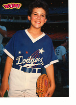 Fred Savage Chad Allen teen magazine pinup clipping dodgers baseball game