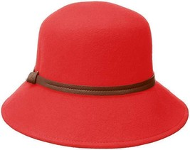 Nine West Women's Red Felt Trench Hat - $17.33