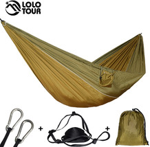 Ultralight Outdoor Camping Hammock Sleep Swing Tree Bed Garden Backyard ... - $38.90