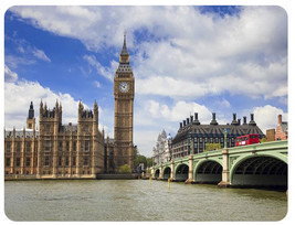 Big Ben Houses Of Parliament Mouse pad New Inspirated Mouse Mats Ac8 - $6.99