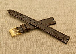 New Gucci 13 MM Brown Lizard Pattern Watch Band -  (13.110) - For 3400 L - $44.95