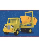 Toy Cars Blue Prepasted Wallpaper Border - $52.89
