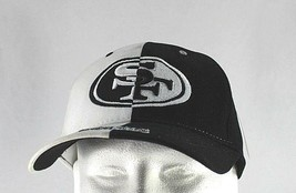 San Francisco 49ers White/Black NFL Baseball Cap Stretch Fit - $24.99