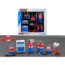 6 piece Garage Shop Tools Set #1 Brock Racing Enterprises (BRE) 1/18 Die... - $41.78