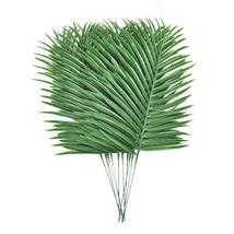 10pcs Faux Tropical Palm Leaves Artificial Palm Plants Leaves Imitation ... - $16.39