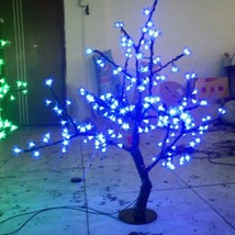 0.8 M 2.6 Ft  LED Cherry Blossom Tree blue Wedding Christmas Holiday XMAS Light  - $150.00
