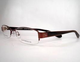 Cutter & Buck Baywood Eyeglasses Brown Walnut Women Men Semi Rimless New - $88.97