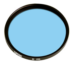 Tiffen 72mm  82B  Filter   7282B  New 72 - $18.16