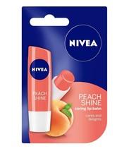 Nivea Fruity Shine, 4.8g Soft Glossy Color (Peach) - $9.12