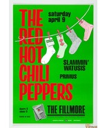 Mint Red Hot Chili Peppers Primus 1988 Fillmore Poster F5  - $64.99