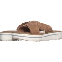 STEVEN Steve Madden Katie Platform Sandals 045, Sand, 9.5 US - $27.83