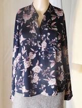 Forever 21 Women's Blouse Size S - Super Silky - Black Rose Floral - $14.95