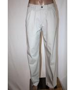 Vintage LEVI'S SILVERTAB Men's 34 x 34 Khaki Flat Front 6 Pocket Pants C... - $31.92