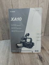 Canon XA10 HD Camcorder Video Camera Original User Instruction Guide Manual - $15.69
