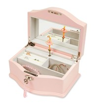 JewelKeeper Girls Wooden Musical Jewelry Box with Lock and Key, Classic ... - €63,70 EUR
