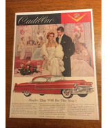 """Vintage 1955 Cadillac - Maybe This Will Be The Year! Ad 10""""x13"""" - $5.65"""