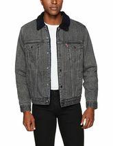 Levi's Men's Classic Button Up Cotton Sherpa Trucker Jacket image 6