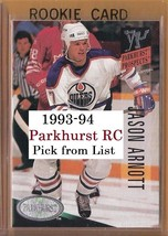 1993-94 Parkhurst RC | #409-540 | Hockey | LOT x1 | Pick from List - $0.76 - $0.92